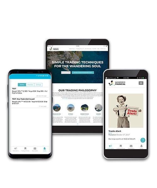 wanderer financial stock trading newsletter app